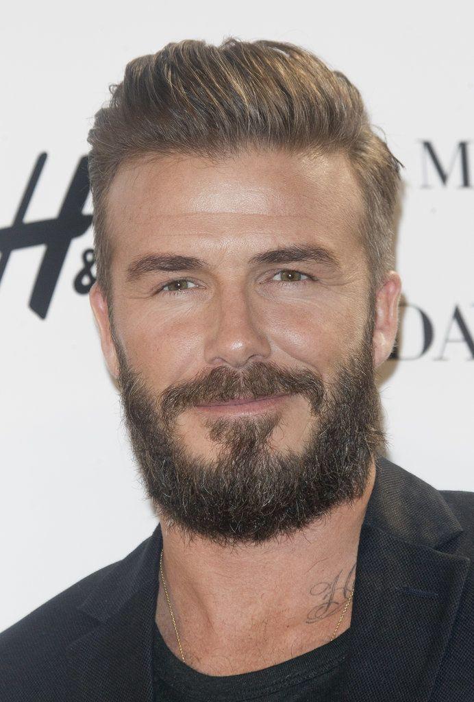 David Beckhams Haircut