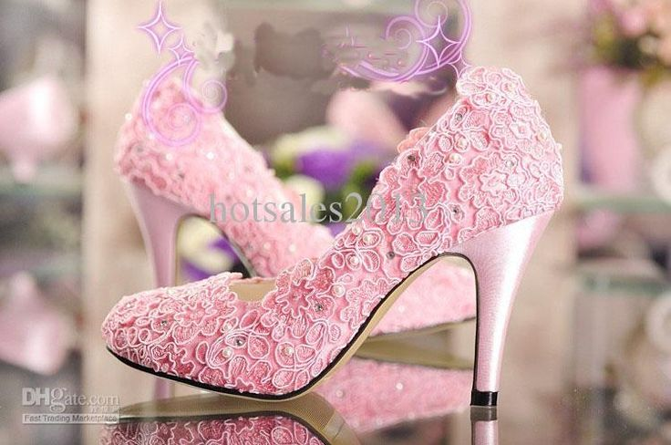 Cheap Wedding Shoes - Discount Fashion Designer Pink Wedding Shoes High Heel Pumps Online with $103.67/Piece | DHgate