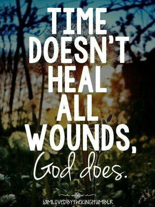 God is the healer.