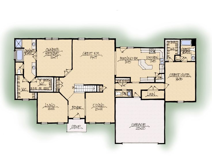 26 best images about dream homes and floor plans on for Custom dream home floor plans