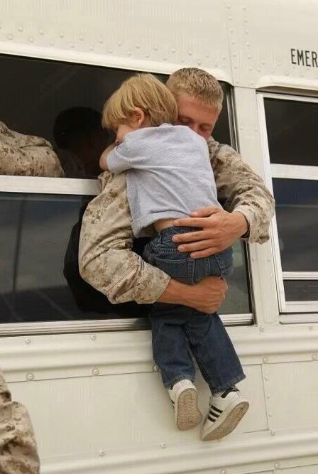 Pray for those who would leave behind everything they hold dear to protect the freedom of those they have never met...