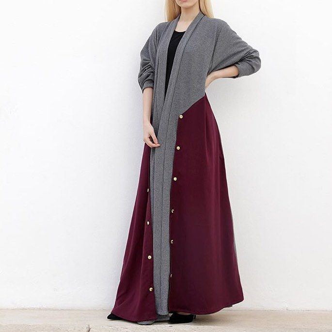 IG: Muneera.Hamad || IG: BeautiifulinBlack || Abaya Styles