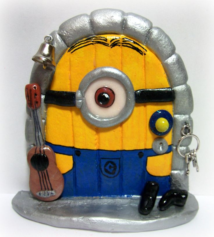 minion fairy door invite a little magic into your home fairy doors made by