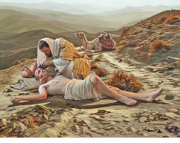 O Bom Samaritano - Parábola de Jesus