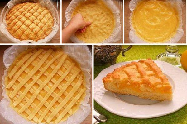 Песочный лимонный пирог http://optim1stka.ru/2017/08/25/pesochnyj-limonnyj-pirog/