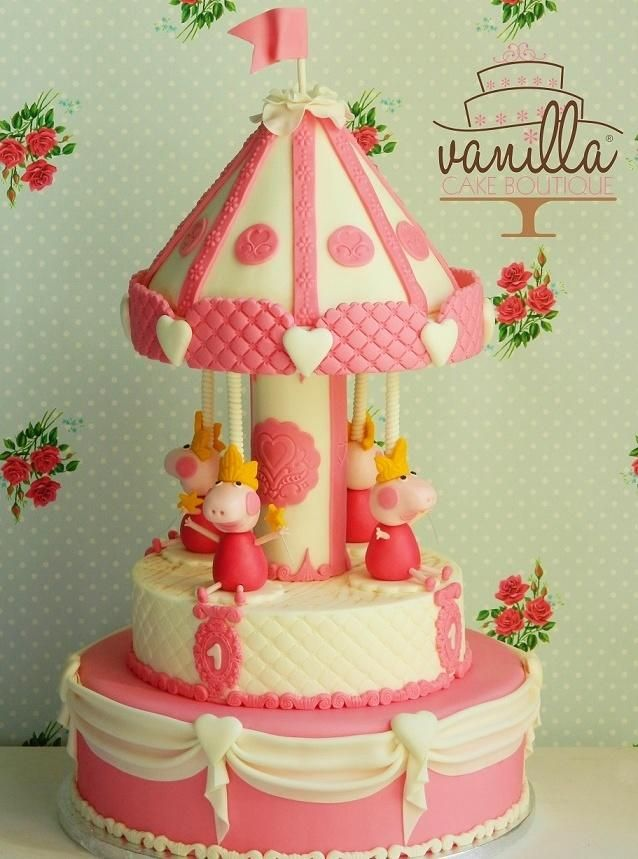 Carillon Peppa Pig - Cake by mariagrazia tota
