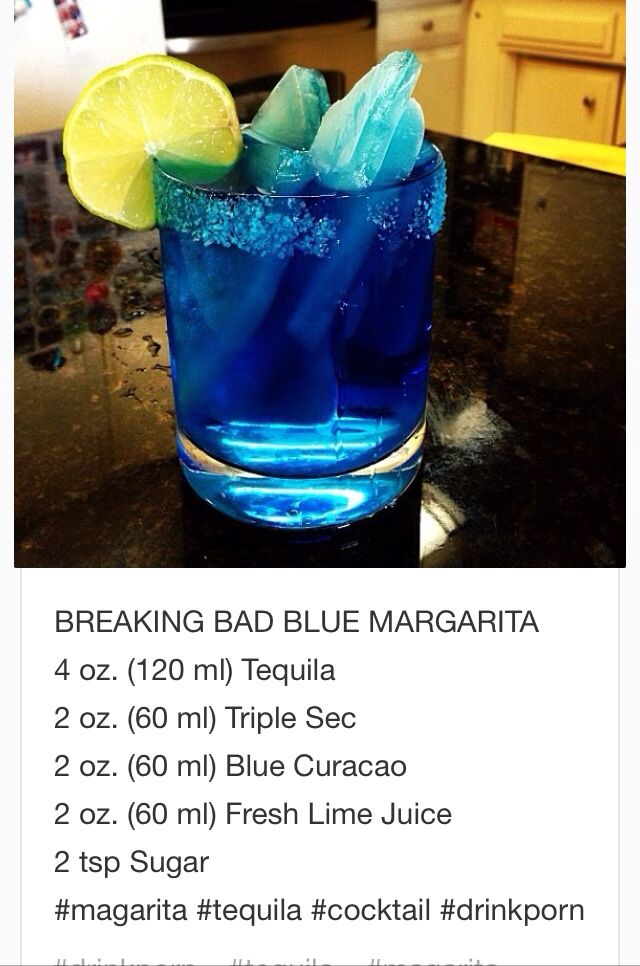 Breaking Bad Blue Margarita~ tipsy bartender