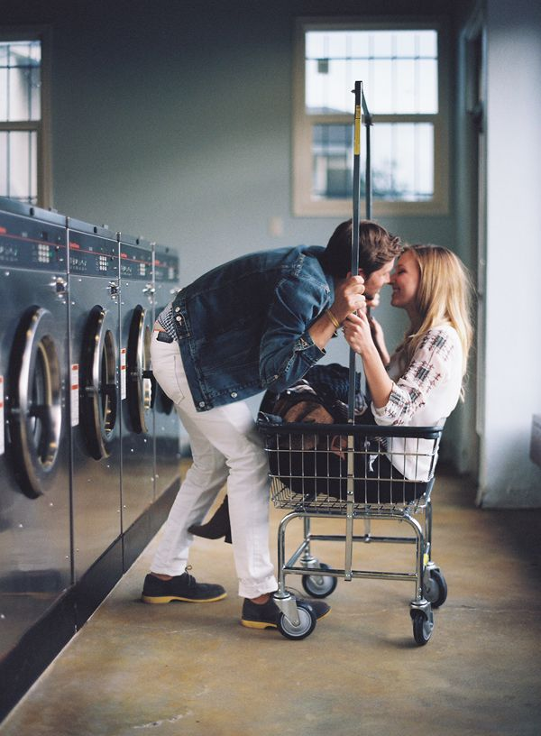 I dislike that we don't have laundry in our apartment... but I love when Dan helps. #OPALlovestorycontest