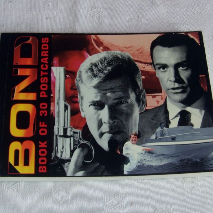 ITEM 2004 James Bond Postcard book DISCRIPTION Good Condition SIZE Oversized Postcards SHIPPING WEIGHT 200 GRMS POSTAGE RATES See postal rates