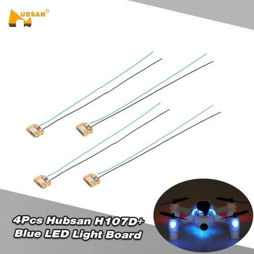 4Pcs Original Hubsan H107D+-05 Blue LED Light Board for Hubsan H107D+ H107C+ RC Quadcopter