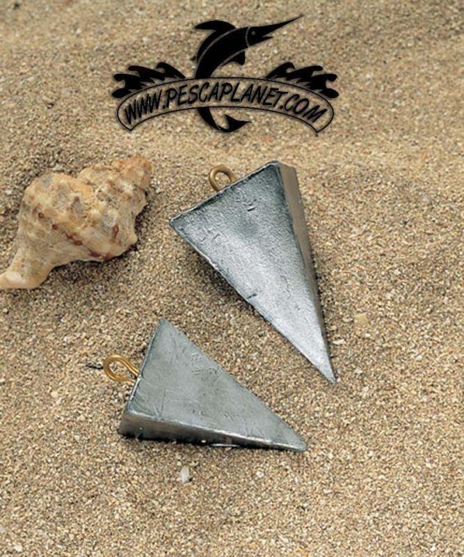 Piombo Piramide Surfcasting Varie Grammature