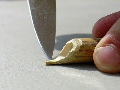 DIY bamboo dip pen tutorial  Tyler Dahl: It's finally here! - The long awaited bamboo dip pen tutorial!