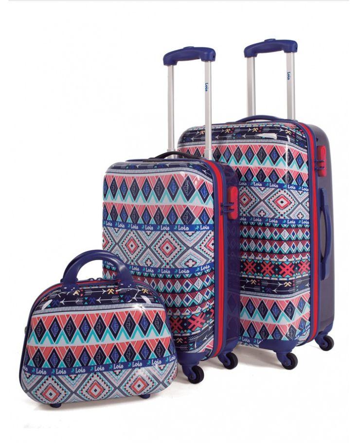 Juego de maletas de policarbonato de la marca Lois