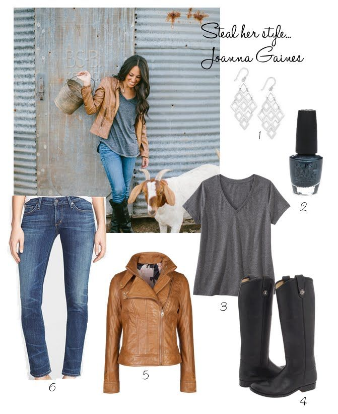 COTTAGE AND VINE: Steal Her Style   How to Dress Like Joanna Gaines. Love her!!