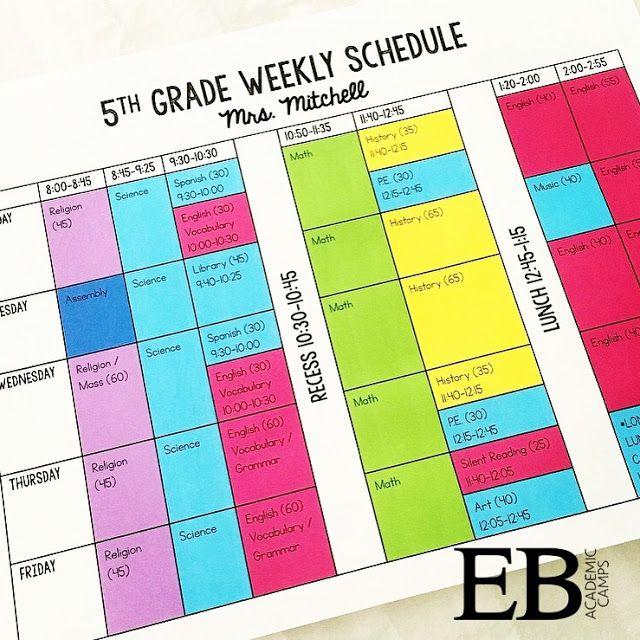 The 25+ best Class schedule ideas on Pinterest Teacher - class timetable