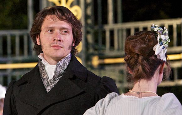 David Oakes as Mr Darcy in Pride and Prejudice at the Open Air Theatre (Stage)