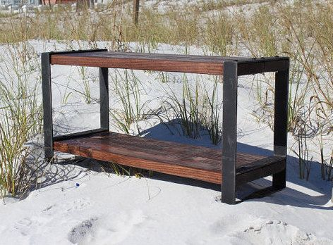 1000 Ideas About Industrial Bench On Pinterest