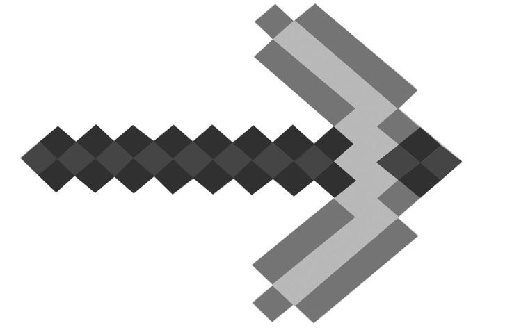 Minecraft Tools Coloring Pages