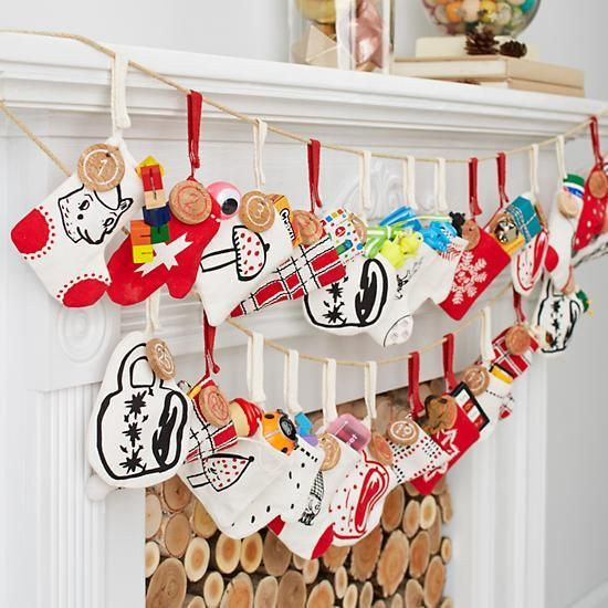 Yuletide Spirit Toy Advent Calendar