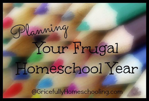 Planning Your Frugal #Homeschool Year
