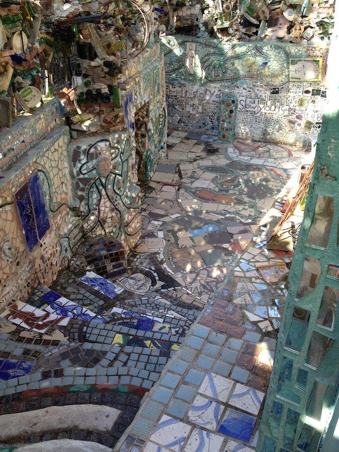 548 best Philadelphias Magic Gardens images on Pinterest