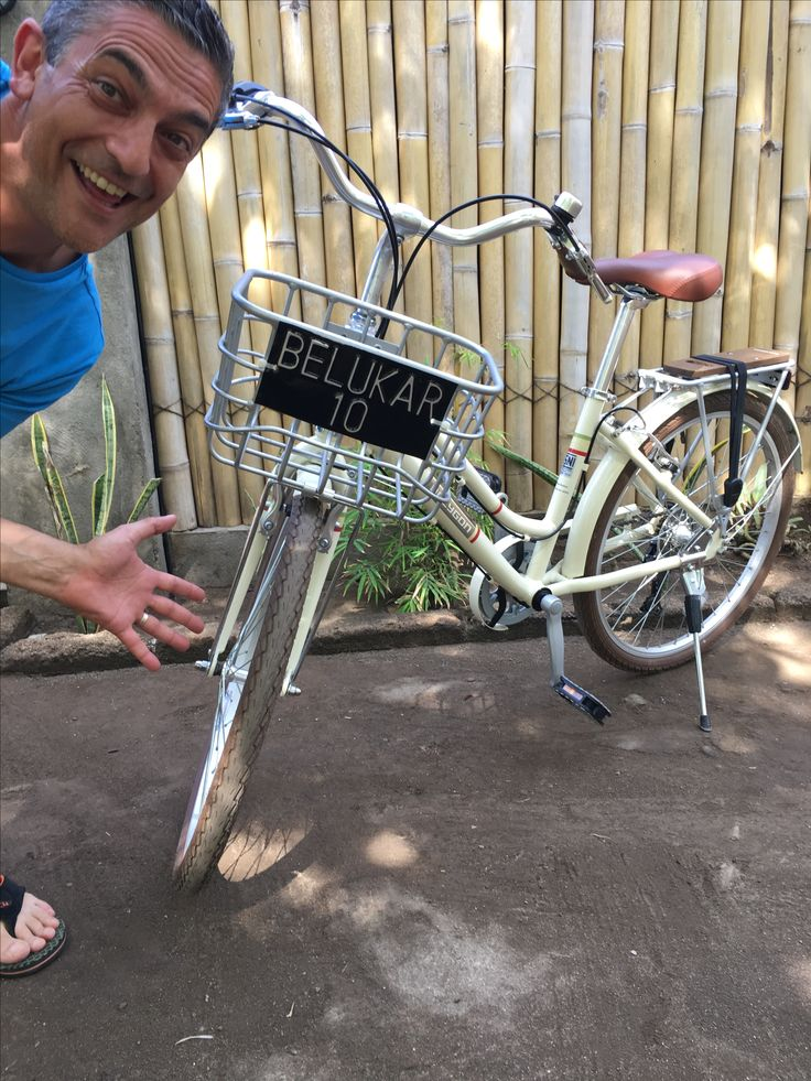 Not only the cheapest bikes on Gili T but the newest and most stylish too