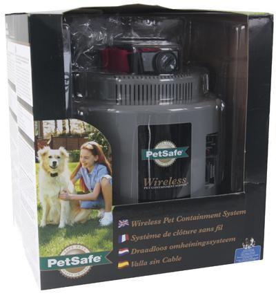 Petsafe pif-300-21 wireless pet containment system instant fence  petsafe instant fence de instant fence van petsafe is een draadloze onzichtbare omheining die ervoor zorgt dat de hond de tuin niet uit kan. zonder dat er daarvoor hele hekwerken of muren geplaatst hoeven worden. eigenschappen van de petsafe instant fence de instant fence is makkelijk in gebruik. er hoeft niets geïnstalleerd te worden. de instant fence is een heel nieuw concept welke de hond aanmoedigt om niet weg te lopen…
