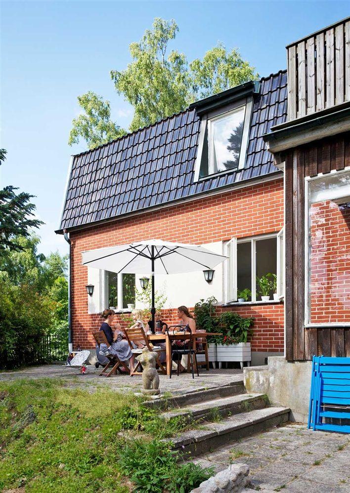 Fabuleux Les 25 meilleures idées de la catégorie Maisons de briques rouges  YT78