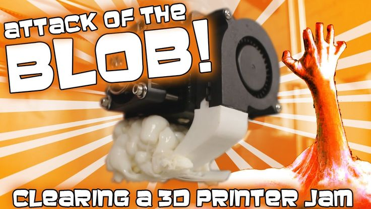 Attack of the Blob! - Clearing a Massive Jam on the A8 3D Printer