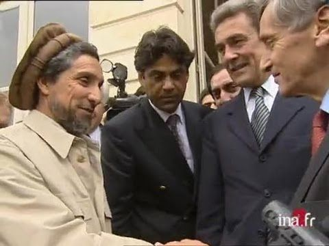 Le commandant Massoud à Paris