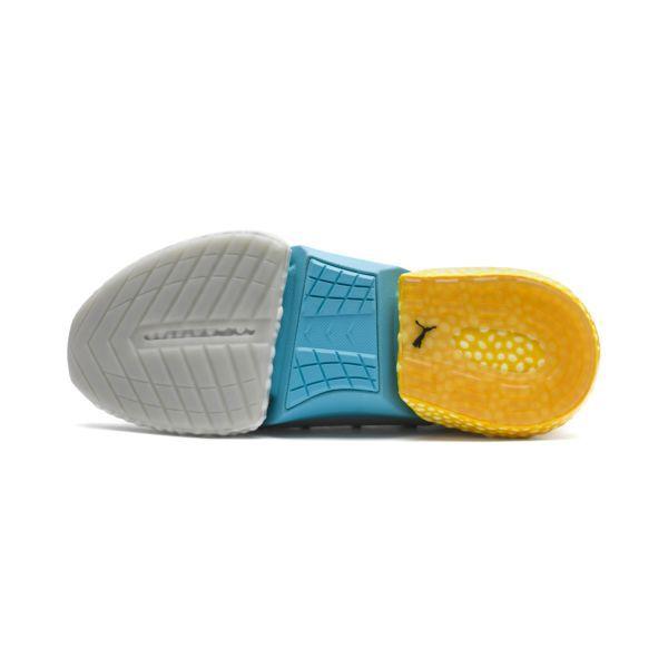 Adidas Retro ∧ Bleu Jaune ∧ Garcon Chaussures ∧ De Basket
