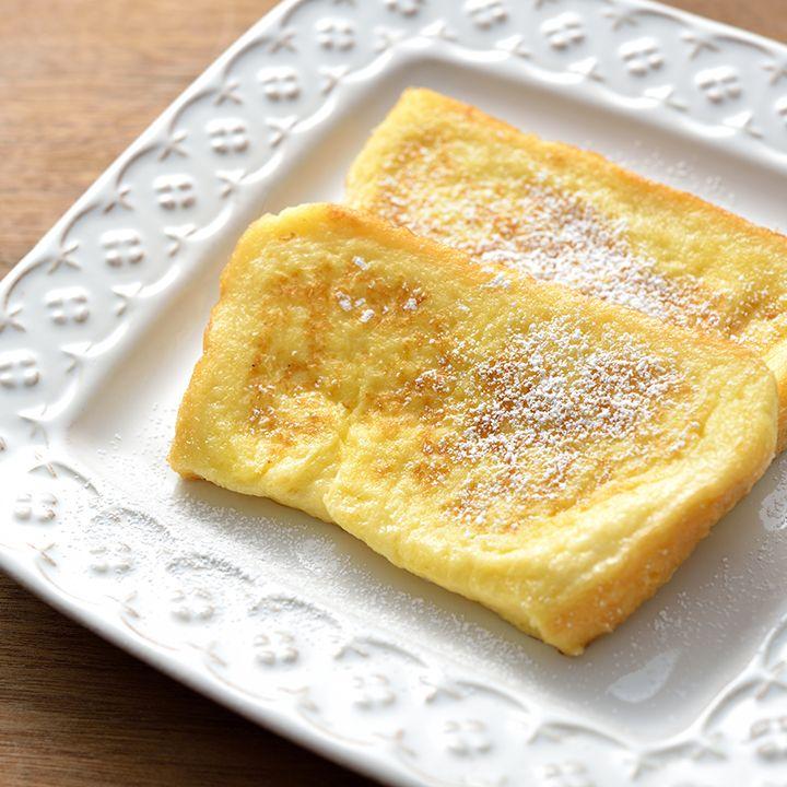 とっても時短フレンチトースト | ドリンクのアレンジからデザート、そして和食まで、「明治おいしい牛乳」を使った、楽しくておいしいレシピをご紹介致します。
