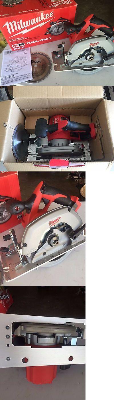 Cordless Circular Saws 71307: New Milwaukee 2630-20 18V Li-Ion Cordless 6-1 2 Circular Saw - Bare Tool -> BUY IT NOW ONLY: $87.99 on eBay!