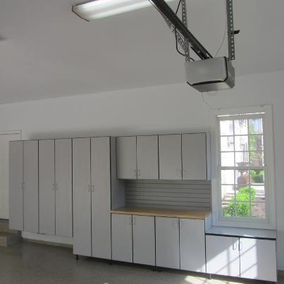 37 best images about garage cabinets on pinterest for Custom garage design