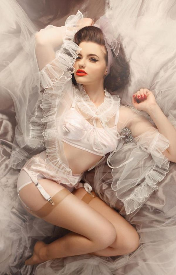 Lingerie Briefs - Glitter and the Moon