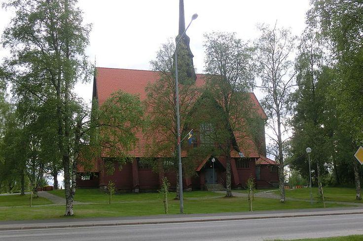 Norsjö kyrka, Västerbotten. From 1917.