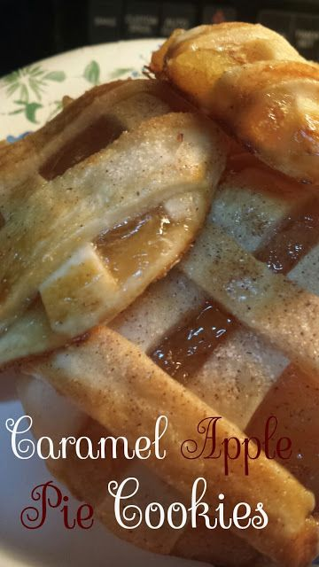 Mrs. Scales' Recipes n' Things: Caramel Apple Pie Cookies