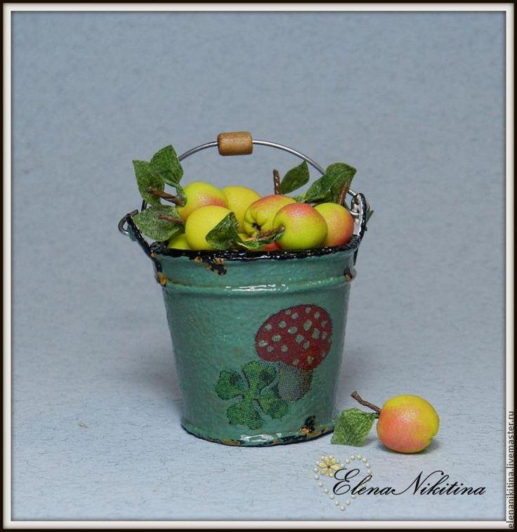 Мастер-класс: эмалированное ведро в миниатюре - Ярмарка Мастеров - ручная работа, handmade
