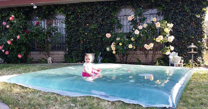 Met deze lekkere dagen begint de zomer natuurlijk al een beetje te knagen. Veel mensen kiezen voor een zwembadje in de tuin, maar voor vooral met jonge kinderen is dit misschien wel een veel leuker…