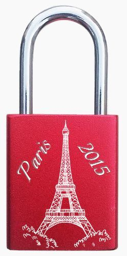 Lovelocks in Paris, engraved lovelocks. http://foreverlovelocks.com/