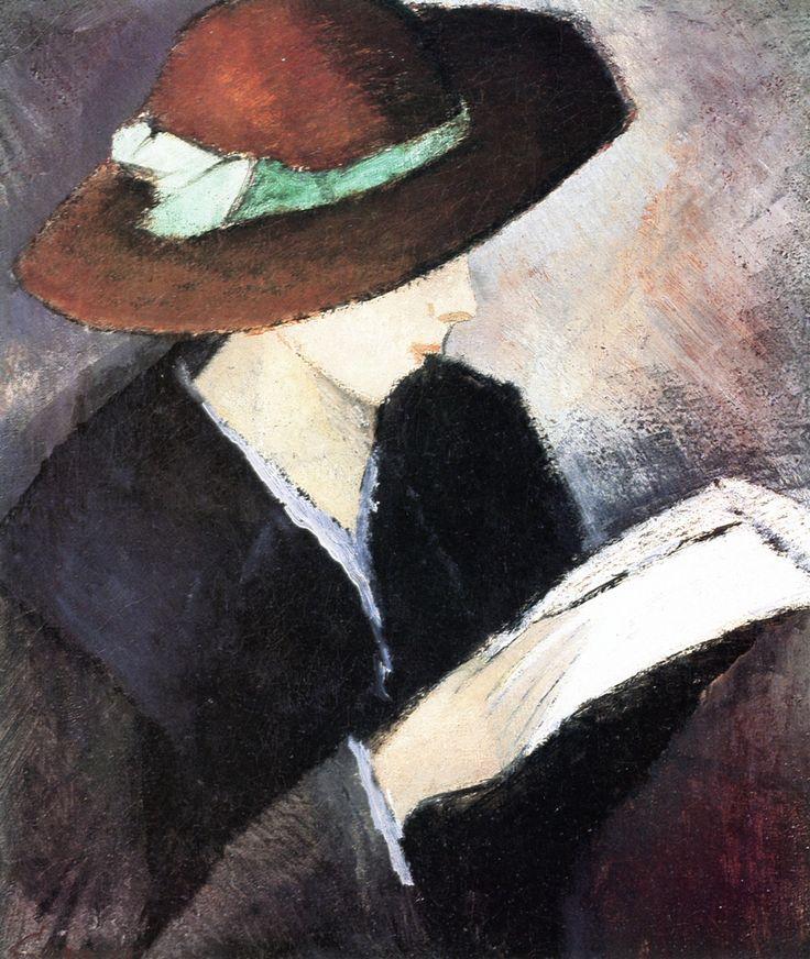 The Athenaeum - Girl with a Hat (Alvar Cawén - )