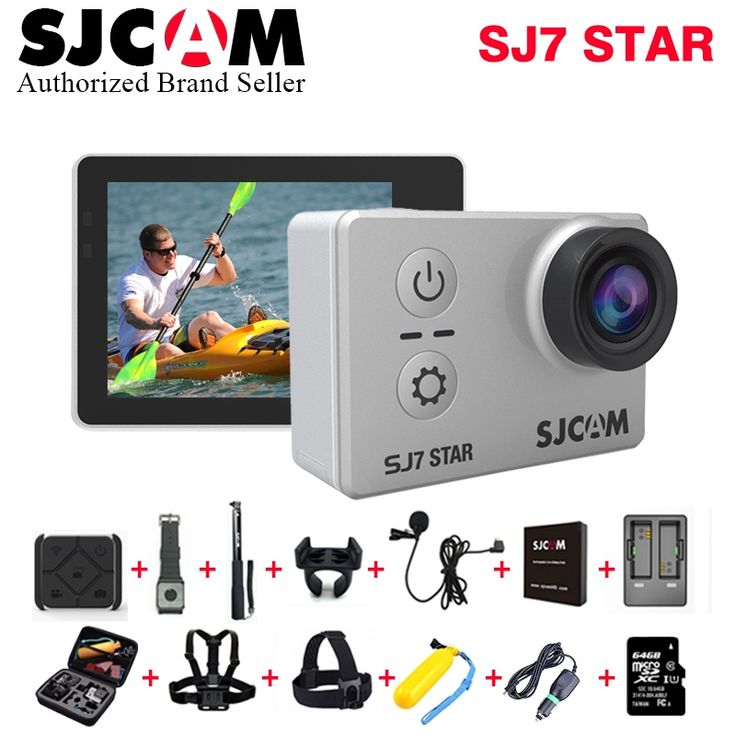 199.00$  Buy here - http://aikb1.worlditems.win/all/product.php?id=32805563326 - Original SJCAM SJ7 Star WiFi 4K 30FPS 2' Touch Screen Remote Action Helmet Camera Waterproof Ambarella A12S75 Chip Car Sport DVR