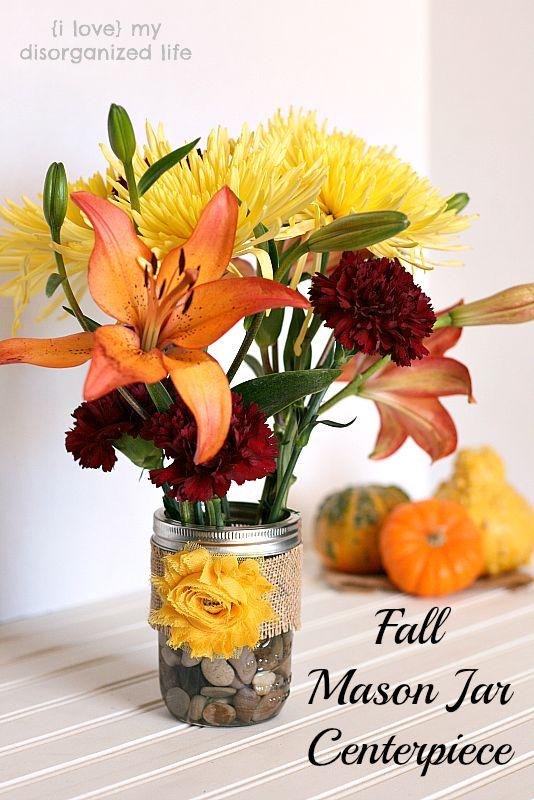 Ideas about fall mason jars on pinterest