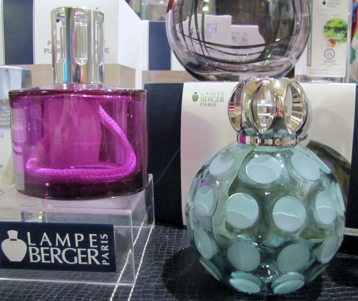 Beautiful new lamps from Lampe Berger available at Expressions by gigi  www.expressionsbygigi.com