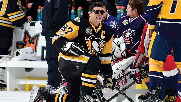 Sidney Crosby at the 2017 All Star Skills Competition
