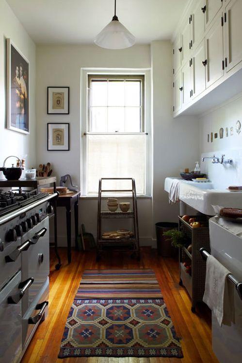 quiet: Interior, Tiny Kitchen, Small Kitchens, Apartment, Sink, Galley Kitchens, House, Kitchen Ideas