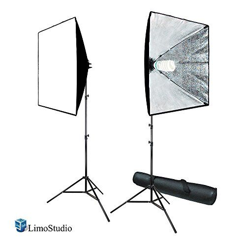 LimoStudio 700W Photography Softbox Light Lighting Kit Ph...