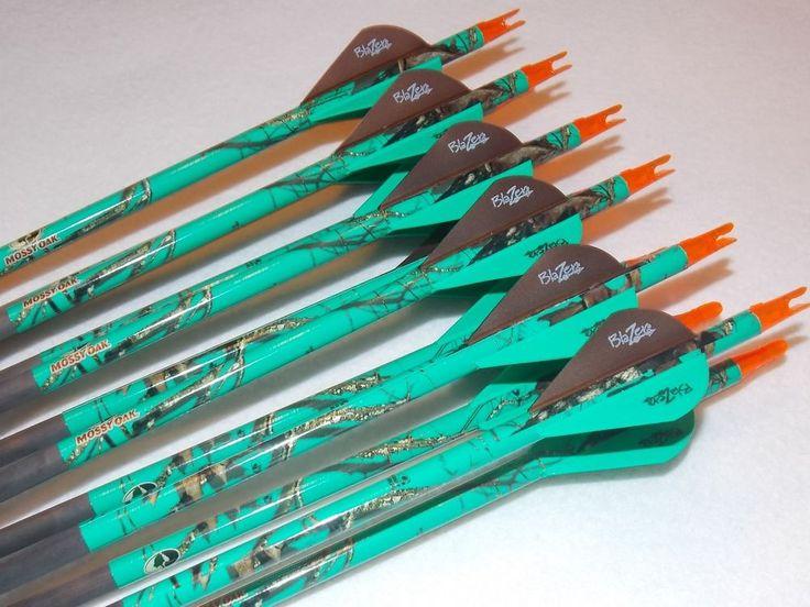 1 Docena Gold Tip Expedition Hunter 3555/500 Carbono Custom Flechas w/blazers! in Artículos deportivos, Deportes al aire libre, Arquería | eBay
