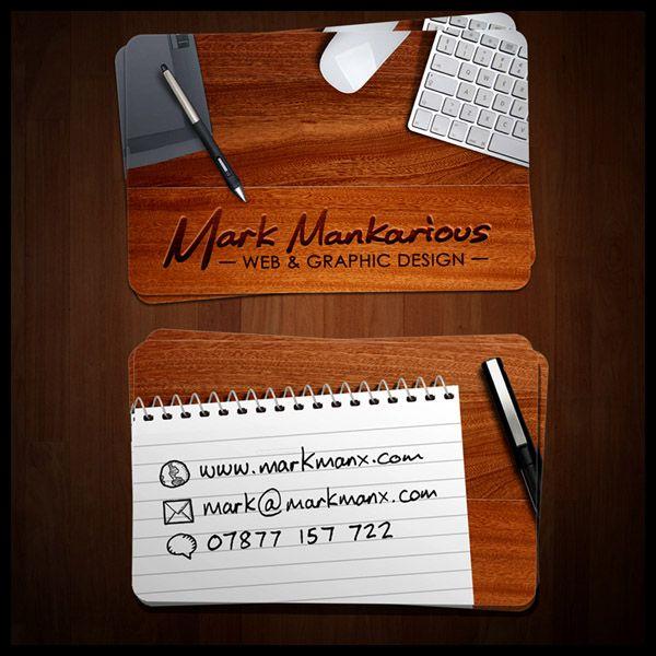 Tarjetas Personales #8 « Designals Seguir link para ver más ejemplos!