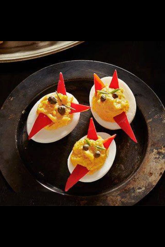 Halloween Deviled Eggs sure to spook and entice